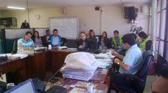 15/02/14 Presentación del proyecto de reciclaje ante las autoridades locales.