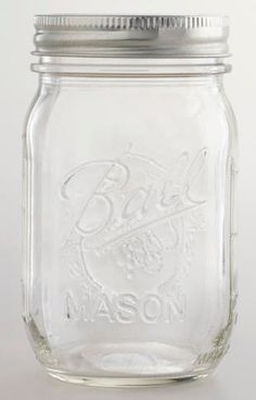 Mason Pint Canning Jars | Set of 12