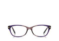 Square Optical Frame - Tom Ford FT5142 violet