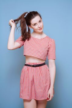 Red Gingham Co-Ord