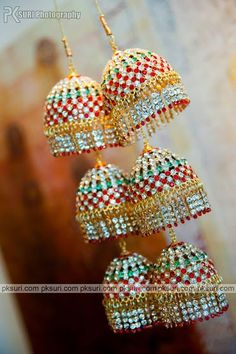Kalire studded with multicoloured stones. Wedding Chura, Bridal Chura, Desi Wedding, Indian Accessories, Bridal Accessories, Bridal Jewelry, Punjabi Bride, Punjabi Chura, Wedding Planning Websites