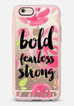 Bold fearless strong floral iPhone 6 case by Allyson Johnson   Casetify