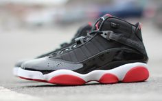 more photos b8317 a469e Releasing  Jordan 6 Rings  BRED  Jordans 6, Best Basketball Shoes, Sneaker