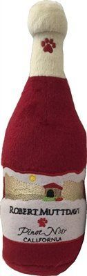 Robert Muttdavi Plush Wine Dog Toy >>> Continue to the product at the image link. (This is an affiliate link and I receive a commission for the sales) #MyPet