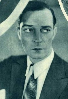 Buster Keaton but again, no date. This drives me nuts!