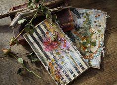 Handmade by Smilla: Пара открыток и места на курс по Микс-Медиа.