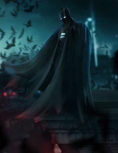 Batman on the Gotham Roofs Batman Gif, Batman Vs Superman, Batman Robin, Batman Armor, Funny Batman, Dc Comics Heroes, Dc Comics Art, Marvel Dc Comics, Planet Comics