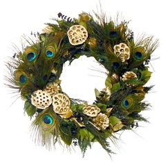 Or should I do a glamorous peacock christmas theme?