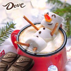Dove Mexico - ¡Feliz Navidad! Disfruta esta mañana con un delicioso chocolate caliente de Dove.