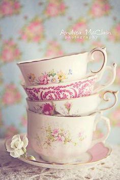 toppled teacups.  EF x JM #StudioSeries Tea Party board