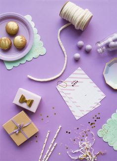 A Simple Lavender Baby Shower | Oh Happy Day!