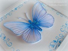 18  Quilled Butterfly