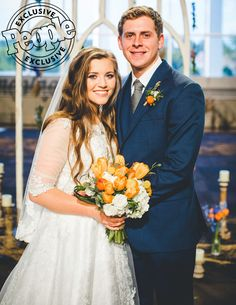 Joy-Anna Duggar and Austin Forsyth tied the knot on Friday after announcing their engagement in March