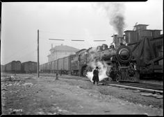 C.P.R. Silk Train  VPL Accession Number: 15641  Date: December 4, 1928  Photographer/Studio:Frank, Leonard  Content Notes: Locie Number 2651