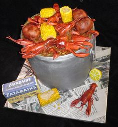 Crawfish cake