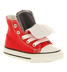 Converse Tongue Hi Kids Red Navy White 29 99 Office