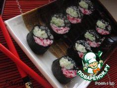 """Роллы """"Арабески"""" или маки-суши - кулинарный рецепт Japanese Sushi, Ethnic Recipes, Food, Essen, Meals, Yemek, Eten"""