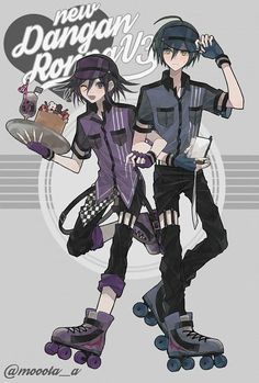 New Danganronpa kB. New Danganronpa V3, Super Danganronpa, Danganronpa Memes, Danganronpa Characters, Ouma Kokichi, Gekkan Shoujo, Ship Art, Anime Ships, Manga