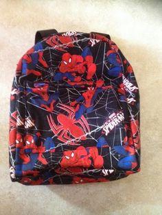 Costura a tu gusto: Mochila ideal para niños molones, mochila spiderman DIY
