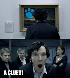 i bet he found that clue faster than steve ever did... and without having to ask little children where it was :P