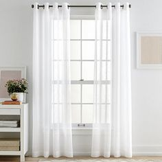 When a person enter in a room then the first thing that will catch his attention is the window. Curtains give a rich look of your room. Just come to the website & buy window sheers online. Curtains, Home, Grommet Curtains White, Sheer Curtain Panels, Dorm Room Essentials, White Sheer Curtains, Dorm Style, Drapes Curtains, Drop Leaf Kitchen Island