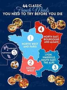 44 Classic French Meals You Need To Try Before You Die. I need to eat all of France. Food Design, French Dishes, All I Ever Wanted, International Recipes, Love Food, The Best, Just In Case, Food And Drink, Cooking Recipes
