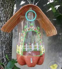 Resultado de imagen para pajareras recicladas