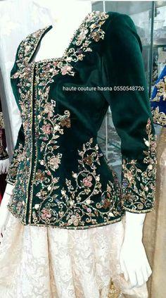 Abaya Fashion, Couture Fashion, Fashion Dresses, Embroidery Fashion, Embroidery Dress, Traditional Fashion, Traditional Dresses, Kurta Designs, Blouse Designs