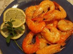 Creveti cu usturoi si vin alb, Rețetă Petitchef Cookie Recipes, Shrimp, Healthy Recipes, Healthy Food, Meat, Cooking, Romanian Food, Foods, Recipes For Biscuits