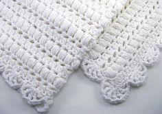 crochet baby blanket - pattern $3.00 via etsy.com