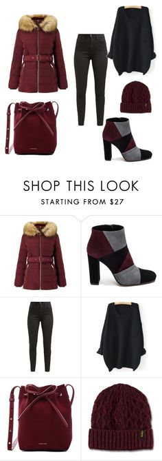 """""""Untitled #1"""" by emina-emil ❤ liked on Polyvore featuring Miss Selfridge, Roberto Festa, Levi's, WithChic, Mansur Gavriel and Dr. Martens"""