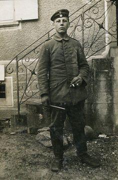 German soldier, possibly Bavarian, WWI