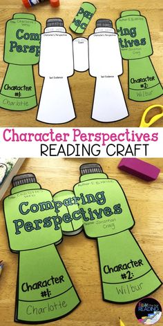 This character traits activities crafts pack includes tons of hands on and engaging no prep fiction Reading Resources, Reading Strategies, Reading Activities, Reading Skills, Teaching Reading, Reading Comprehension, Classroom Reading Nook, Reading Groups, Fiction