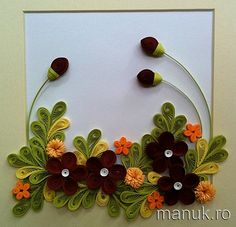 Paper Quilling Tutorials | Quilled Flower Arrangements with Tutorial