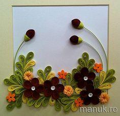 Quilled Flower Arrangements