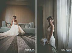 Tul y Flores · Inspiración para tu boda: Boda de Raquel y Mario por Ruben Mejias