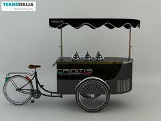 "Tekneitalia - ""Criniti's Event Sydney"" - by #tekneitalia made in italy www.tekneitalia.com - Sydney, Australia - Ice cream cart model: Procopio #gelatocart"