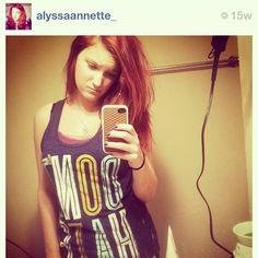 ❤ @alyssaannette_ looking amazing in her LTL tank!