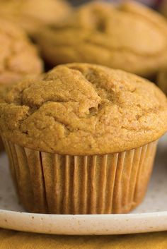 Pumpkin maple brown butter muffins