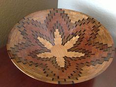 Starburst Patterned Segmented Navajo Wedding Basket by KaveBowls, $275.00