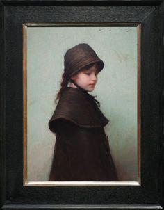 Jeremy Lipking oil painting