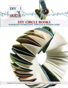 DIY eBook Tutorial How to make Accordion Circle Books. $4.50, via Etsy.