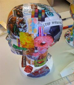 Art Therapy Head