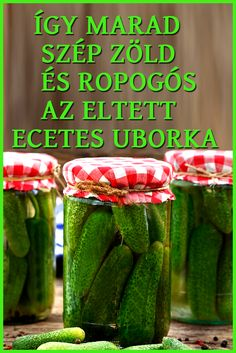 Hungarian Recipes, Cooking Recipes, Healthy Recipes, Kaja, Health Remedies, Food Storage, Preserves, Pickles, Asparagus