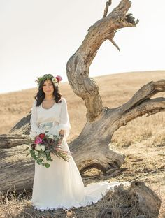 Rustic Bohemian Wedding Inspiration | Green Wedding Shoes Wedding Blog | Wedding Trends for Stylish + Creative Brides