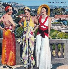 Pyjamas were made in an amazing array of bold colors and patterns, as you will see in some of pictures and old advertisements I have added here.