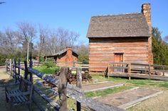 Farmers Branch Historical Park by Steven Polunsky, via Flickr