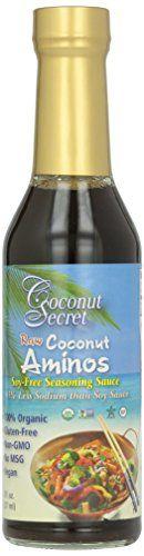 Coconut Secret Organic Raw Coconut Aminos Soy-Free Seasoning Sauce-8 Oz Coconut Secret http://www.amazon.com/dp/B003XB5LMU/ref=cm_sw_r_pi_dp_WFdevb10G1T3J