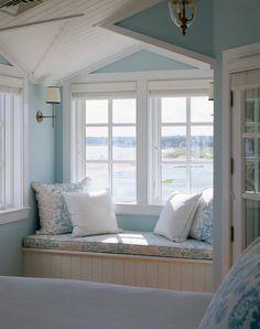 Traditional Bedroom Windowsill - Window Ideas