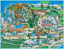 Tokyo Disneyland and DisneySea Resort Map.     Please can I go? with a cherry on top? and Sprinkles?